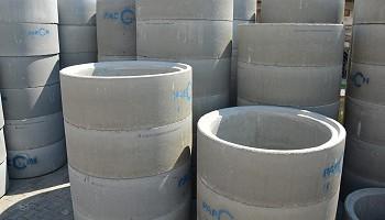 Studnie, kręgi, rury betonowe